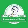 (A) Anna Wagner fit werden sein bleiben 100x100 grün